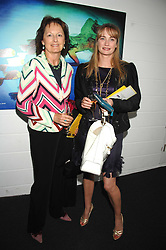 Left to right, RACHEL BILLINGTON and CLEMENTINE FRASER at a pre show reception to celebrate the 50th anniversary of the play 'The Birthday Party' held at the Lyric Theatre, Kings Street, Hammersmith, London on 19th May 2008.<br /><br />NON EXCLUSIVE - WORLD RIGHTS
