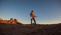 Kel Mockingbird at Cathedral Rock, Sedona - Arizona