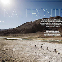 Mens Fitness magazine 2014, Afghanistan editorial feature.