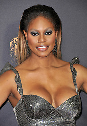 Laverne Cox at the 69th Annual Emmy Awards held at the Microsoft Theater on September 17, 2017 in Los Angeles, CA, USA (Photo by Sthanlee B. Mirador/Sipa USA)
