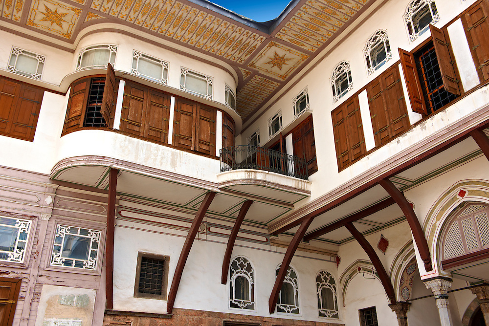 The Courtyard of the Favourites (Gözdeler / Mabeyn Tal ve Dairesi)  was the space where Sultan Abül Hamid I lived with the  Favourite Consort of his harem, Topkapi Palace Istanbul .<br /> If you prefer to buy from our ALAMY PHOTO LIBRARY  Collection visit : https://www.alamy.com/portfolio/paul-williams-funkystock/topkapi-palace-istanbul.html<br /> <br /> Visit our TURKEY PHOTO COLLECTIONS for more photos to download or buy as wall art prints https://funkystock.photoshelter.com/gallery-collection/3f-Pictures-of-Turkey-Turkey-Photos-Images-Fotos/C0000U.hJWkZxAbg