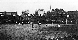 Action from the match at White Hart Lane
