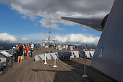 USS Missouri Memorial, Ford Island, Pearl Harbor, Oahu, Hawaii