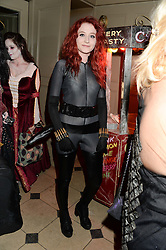 JANET DEVLIN at Morton's Twisted Circus Halloween Party held at Morton's, Berkeley Square, London on 31st October 2013.