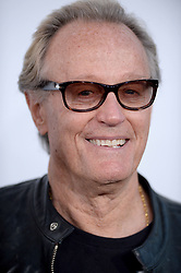 File photo - Peter Fonda attends Universal Pictures Furious 7 premiere at TCL Chinese Theatre in Los Angeles, CA, USA, on April 1, 2015. Peter Fonda, the star, co-writer and producer of the 1969 cult classic Easy Rider, has died at the age of 79. Peter Fonda was part of a veteran Hollywood family. As well as being the brother of Jane Fonda, he was also the son of actor Henry Fonda, and father to Bridget, also an actor. Photo by Lionel Hahn/ABACAPRESS.COM