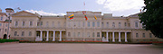 Panoramic view of the Lithuanian Presidential Palace