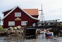 Kristiansand by kayak - Svanen restaurant