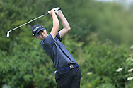 Adam Challoner (Galway Bay) during the Connacht U14 Boys Amateur Open, Ballinasloe Golf Club, Ballinasloe, Galway,  Ireland. 10/07/2019<br /> Picture: Golffile   Fran Caffrey<br /> <br /> <br /> All photo usage must carry mandatory copyright credit (© Golffile   Fran Caffrey)