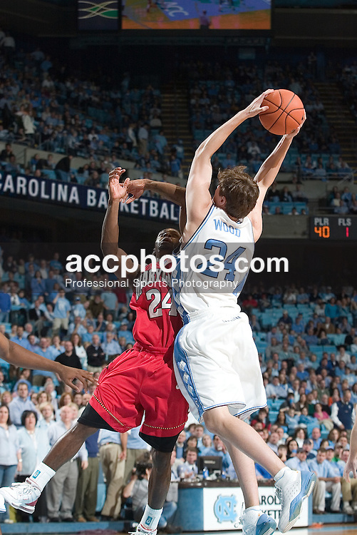 26 February 2006:   during a Maryland Terrapins 57-81 loss to the North Carolina Tar Heels, in the Dean Smith Center in Chapel Hill, NC.
