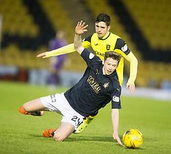 Falkirk's Connor McGrandles and Livingston Jackson Longridge. <br /> Livingston 1 v 1 Falkirk, Scottish Championship game at The Tony Macaroni Arena at 23/1/2016.