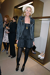 The HON.SOPHIA HESKETH at a party at shoe store Sergio Rossi, 207 Sloane Street, London on 4th April 2007.<br /><br />NON EXCLUSIVE - WORLD RIGHTS