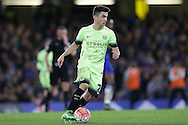 Manuel Garcia of Manchester City in action. The Emirates FA Cup, 5th round match, Chelsea v Manchester city at Stamford Bridge in London on Sunday 21st Feb 2016.<br /> pic by John Patrick Fletcher, Andrew Orchard sports photography.
