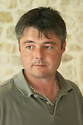 Didier Chadourne winemaker and manager  Chateau Potensac Cru Bourgeois Ordonnac  Medoc  Bordeaux Gironde Aquitaine France