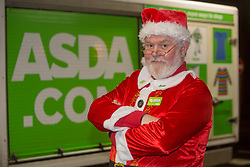 Andy Law, the Dundee Asda delivery driver that has become a hit with customers after dressing up as Santa.