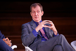 """© Licensed to London News Pictures. 12/05/2017. London, UK. ALASTAIR CAMPBELL speaks at """"The Convention on Brexit"""" event at Westminster Central Hall in London on Friday, 12 May 2017. Photo credit: Tolga Akmen/LNP"""