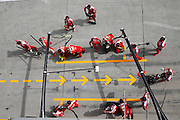April 15, 2016 - Shanghai, China - <br /> <br /> Motorsports: FIA Formula One World Championship 2016, Grand Prix of China, pit stop crew Ferrari <br /> ©Exclusivepix Media