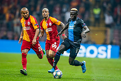 November 26, 2019, Galatasaray, TURKEY: Club's Krepin Diatta pictured in action during a game between Turkish club Galatasaray and Belgian soccer team Club Brugge, Tuesday 26 November 2019 in Istanbul, Turkey, fifth match in Group A of the UEFA Champions League. BELGA PHOTO BRUNO FAHY (Credit Image: © Bruno Fahy/Belga via ZUMA Press)