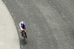 September 19, 2017 - Bergen, NORWAY - 170919 Thomas Pidcock of Great Britain competes during the Men Junior Individual Time Trial on September 19, 2017 in Bergen..Photo: Vegard Wivestad GrÂ¿tt / BILDBYRN / kod VG / 170016 (Credit Image: © Vegard Wivestad Gr¯Tt/Bildbyran via ZUMA Wire)