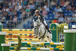 Fernandez Saro Manuel, (ESP), Enriques Of The Lowlands<br /> Team completion and 2nd individual qualifier<br /> FEI European Championships - Aachen 2015<br /> © Hippo Foto - Dirk Caremans<br /> 20/08/15