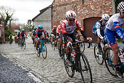 Thi That Nguyen (VIE) at Le Samyn des Dames 2019, a 101 km road race from Quaregnon to Dour, Belgium on March 5, 2019. Photo by Sean Robinson/velofocus.com