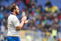 March 17, 2018 - Rome, Italy - Andrea Lovotti of Italy during the NatWest 6 Nations Championship match between Italy and Scotland at Stadio Olimpico, Rome, Italy on 17 March 2018. (Credit Image: © Giuseppe Maffia/NurPhoto via ZUMA Press)