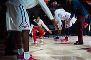 DALLAS, TX - NOVEMBER 25: Nic Moore #11 of the SMU Mustangs is announced before tipoff against the Arkansas Razorbacks on November 25, 2014 at Moody Coliseum in Dallas, Texas.  (Photo by Cooper Neill/Getty Images) *** Local Caption *** Nic Moore