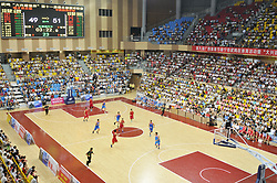 August 14, 2017 - Nannin, Nannin, China - Nanning, CHINA-August 12 2017: (EDITORIAL USE ONLY. CHINA OUT) ..African basketball players can be seen at a basketball match in Nanning, southwest China's Guangxi, August 12th, 2017. There are increasing foreign basketball players at Chinese sports matches in recent years. (Credit Image: © SIPA Asia via ZUMA Wire)
