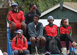 Tennis fans follow the matches during the 14th African Nations Cup (CAN) 2016 mens semi finals at Nairobi Club on November 10, 2016. Photo/Fredrick Onyango/www.pic-centre.com (KEN)