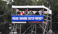 DEN BOSCH -  tijdens de wedstrijd tussen de vrouwen van Jong Oranje  en Jong Wit-Rusland (15-0), tijdens het Europees Kampioenschap Hockey -21. ANP KOEN SUYK