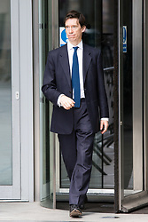 May 26, 2019 - London, London, UK - London, UK. RORY STEWART MP is seen leaving BBC Broadcasting Houses in London. A number of Conservative MPs have entered the race to be the new leader of the party. (Credit Image: © George Cracknell Wright/London News Pictures via ZUMA Wire)
