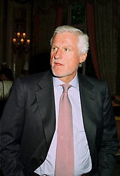 MR FRIEDRICH CHIRSTIAN FLICK the Mercedes multi millionaire, at a party in London on 4th July 1997.LZY 25