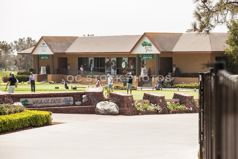 Torrey Pines Golf Club in La Jolla San Diego
