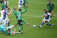 GOAL 0-1 BIRMINGHAM CITY'S Kristian Pedersen during the EFL Sky Bet Championship match between Blackburn Rovers and Birmingham City at Ewood Park, Blackburn, England on 8 May 2021.