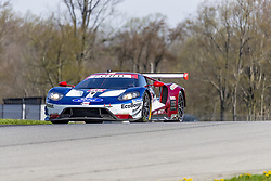 May 4, 2018 - Lexington, Ohio, United States of America - The Chip Ganassi Racing Ford GT races through the turns at the Acura Sports Car Challenge at Mid Ohio Sports Car Course in Lexington, Ohio. (Credit Image: © Walter G Arce Sr Asp Inc/ASP via ZUMA Wire)