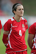 2011 FIFA Women's World Cup Qualifying match, Wales v Czech Republic at Stebonheath Park, Llanelli on Wed 23rd September 2009. pic by Andrew Orchard..Nicola Cousins (Cardiff city)
