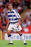 Gavin Peacock - QPR. Crystal Palace v Queens Park Rangers. Football League Division One, 20/08/2000. Credit: Colorsport / Matthew Impey.