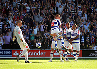 Photo: © Andrew Fosker / Richard Lane Photography -  Ben Watson (being lifted)  celebrates his goal after  Barnsley keeper David Preece (left)  fumbled the shot into the net for  QPR's fourth goal - Queens Park Rangers v Barnsley - Coca-Cola Championship - 26/09/09 Loftus Road - London -  UK - All Rights Reserved