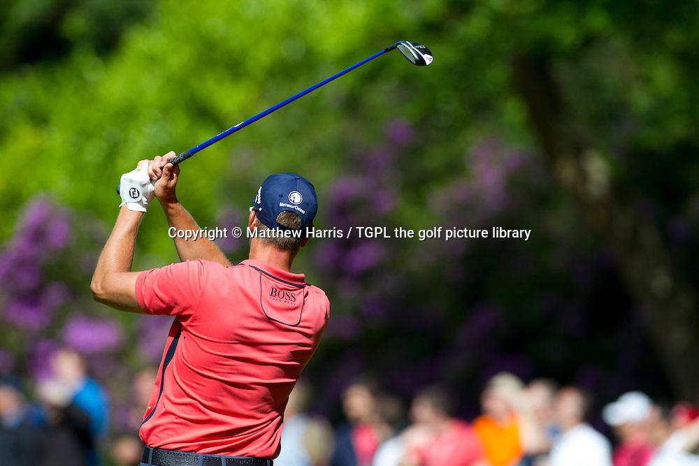 Henrik STENSON (SWE) during fourth round BMW PGA Championship 2014,Wentworth West,Wentworth,Virginia Water,Surrey,England.