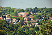 Eastern Europe, Hungary, Visegrad a small castle town in Pest County,
