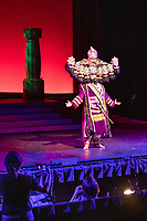 San Jose, California | 2018<br /> Senior Will Murphy plays the role of Ravana, the ten-headed Demon King and villain, in Mount Madonna School's annual production of Ramayana!, a musical adaptation of the Indian epic.