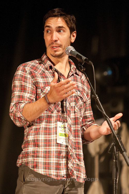 Justin Long at the 2011 Solid Sound Festival.