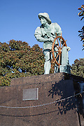 The Helmsman Statue on Venice Boulevard in the Marina