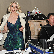 Olga Karchenko is a production manager for the Grand Final MISS USSR UK 2019 at Hilton Hotel Park Lane on 27 April 2019, London, UK.