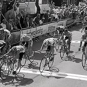 NLD/Huizen/19930817 - Profronde van Nederland 1993 aankomst in Huizen, finish