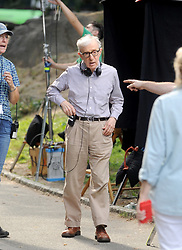 Woody Allen on the set of his special project in New York City, NY, USA, September 26, 2017. Photo by Dennis Van Tine/ABACAPRESS.COM
