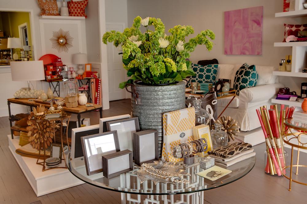 13 September 2012- Amy Sporrer owner of Spruce, is photographed in her store in Midtown Omaha, Nebraska for Omaha Magazine.