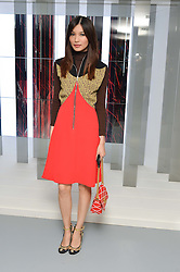 GEMMA CHAN at the Louis Vuitton Series 3 VIP Launch held at 180 Strand, London on 20th September 2015.