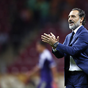 Galatasaray's coach Coach Claudio Cesare Prandelli during their UEFA Champions League Group Stage Group D soccer match Galatasaray between Anderlecht at the Ali Sami Yen Spor Kompleksi in Istanbul, Turkey on Tuesday 16 September 2014. Photo by Aykut AKICI/TURKPIX