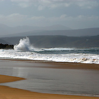 Africa, South Africa, Plettenberg. Plettenberg Beach waves, Garden Route.
