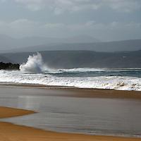 Africa, South Africa, Plettenberg. Plettenberg Beach waves, Garden Route.
